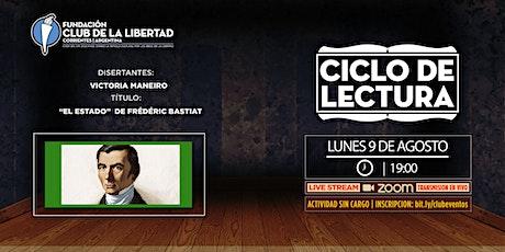 CLUB DE LA LIBERTAD - CICLO DE LECTURA - EL ESTADO DE FRIEDERIC BASTIAT entradas