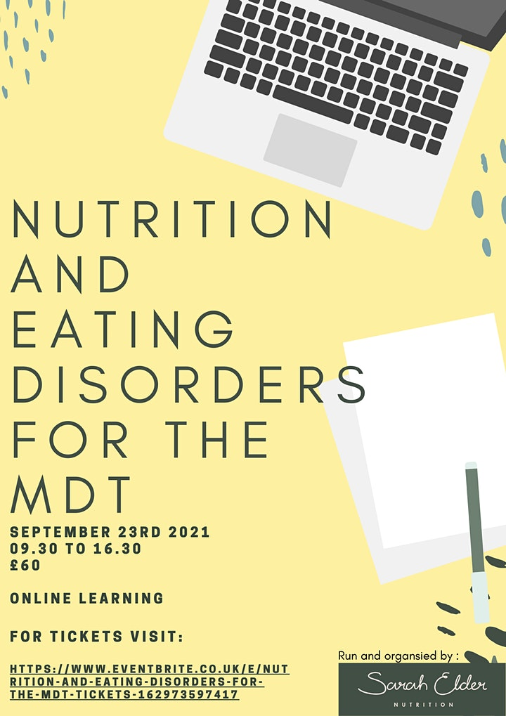 Nutrition and Eating Disorders for the MDT image
