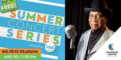 Free Summer Concert Series - The Legendary Big Pete Pearson tickets