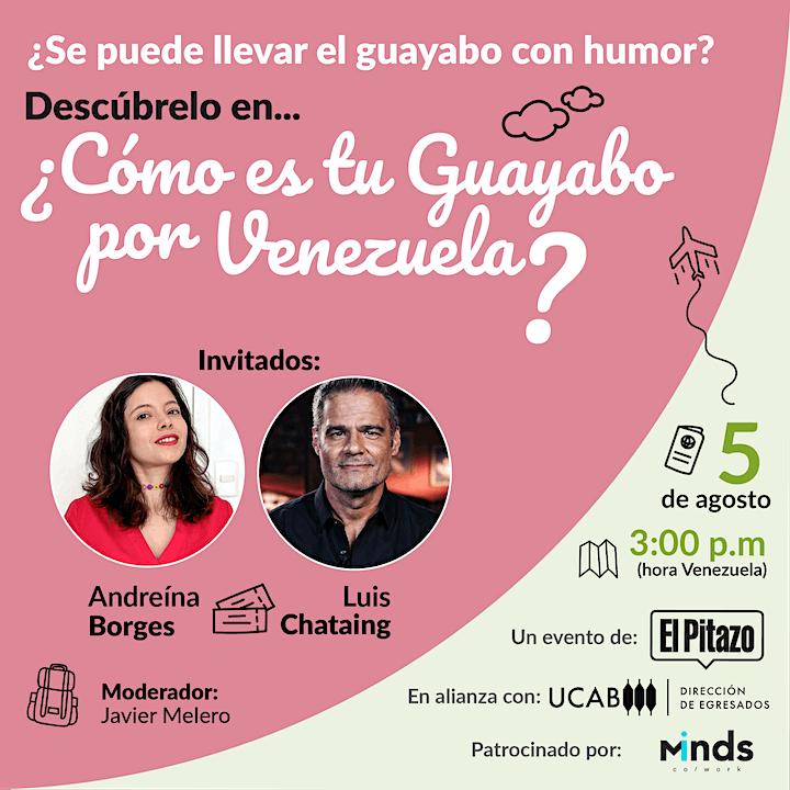 Imagen de Conversa online ¿Cómo es tu Guayabo por Venezuela?