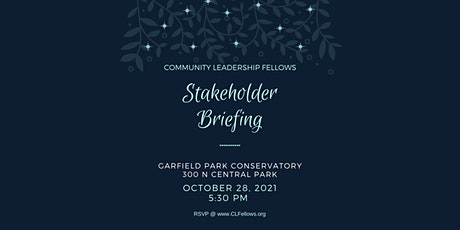 CLF Stakeholder Briefing tickets