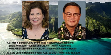 The real state of Hawaii's finances tickets