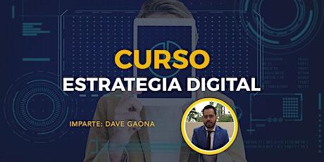 Estrategia digital boletos