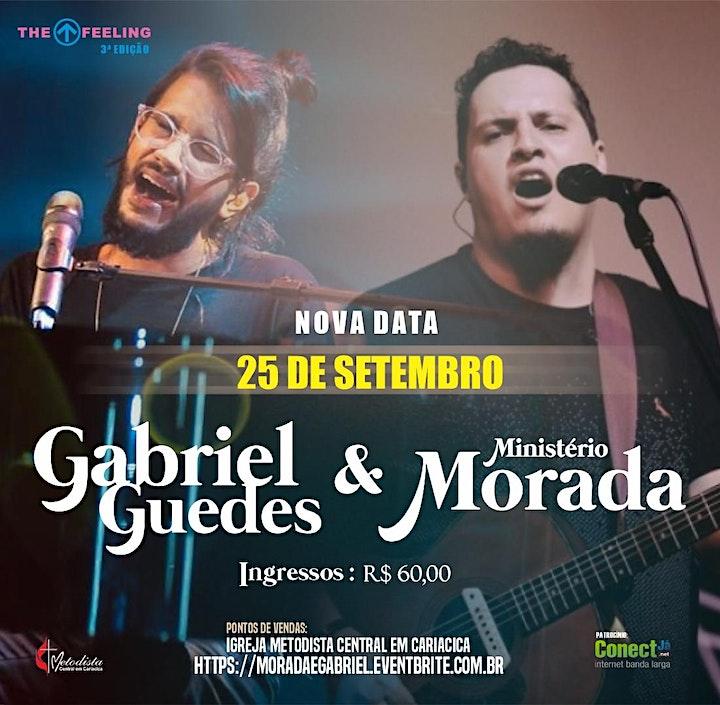 Imagem do evento MORADA & GABRIEL GUEDES | THE FEELING 3ª EDIÇÃO