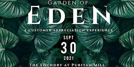 "Herb'N Eden presents ""Garden of Eden: A Customer Appreciation Experience"" tickets"