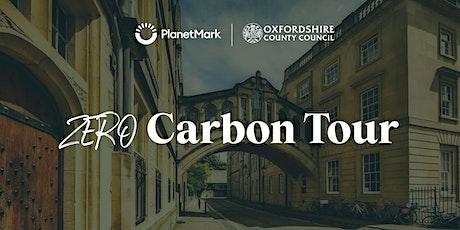 Oxford   Roadmap to net zero   Zero Carbon Tour tickets