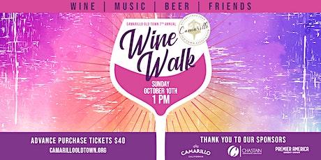 7th Annual Camarillo Old Town WINE WALK tickets