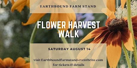Flower Harvest Walk tickets