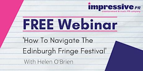 How To Navigate The Edinburgh Fringe Festival tickets