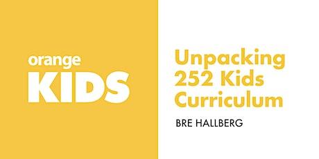 Unpacking 252 Curriculum tickets