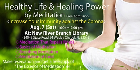 Healthy Life & Healing Power by Meditation tickets