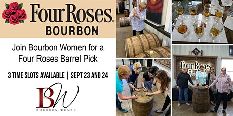 Four Roses Barrel Selections for SIP and Shops tickets