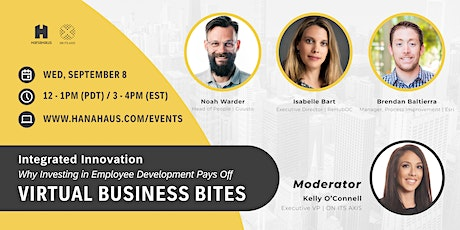 Virtual Business Bites | Integrated Innovation tickets