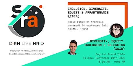 D-RH Live HR-D : Inclusion, Diversité, Equité & Appartenance (IDEA) billets