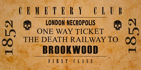 A Trip to the London Necropolis - A Virtual Tour of Brookwood Cemetery tickets