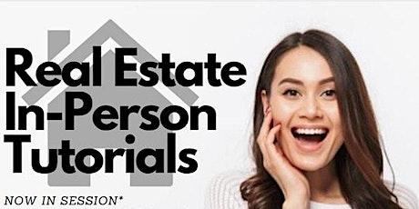 Live Tutorials   Real Estate FINANCE tickets