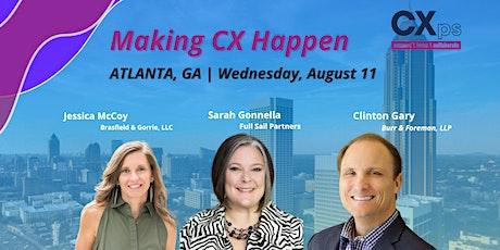 Expert Panel Livestream | Atlanta, GA CXps Event tickets