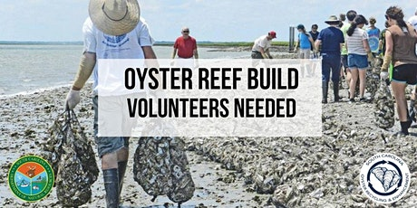 Oyster Reef Build with SCDNR SCORE tickets