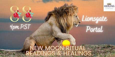 Lionsgate 88 Portal - New Moon in Leo Ritual Readings & Healings tickets