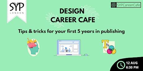 Career Café: Design tickets