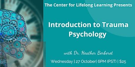 Introduction to Trauma Psychology billets
