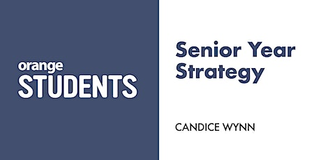 Let's Talk About Senior Year Strategy tickets