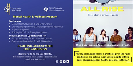"""All Rise """"Rising Above Circumstances"""" tickets"""