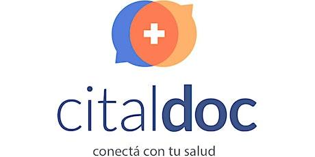 Taller  de  Citaldoc para medicos/as . Uso, preguntas y marketing online entradas