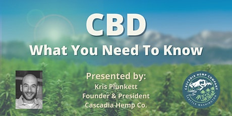 CBD: What You Need To Know tickets