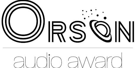 Orson Audio Award 2021 Tickets