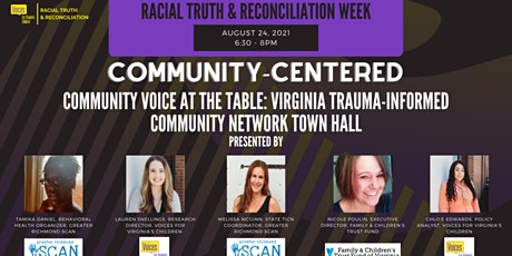 Community Voice at the Table- Virginia Trauma-Informed Community Network tickets