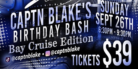 *CAPTNBLAKE BDY BASH* tickets