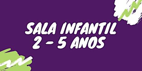 DEPARTAMENTO INFANTIL - 2 Á 5 ANOS ingressos