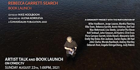 Rebecca Garrett: SEARCH, A Book Launch tickets