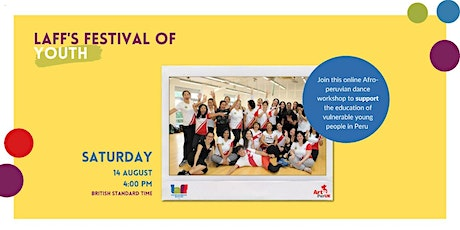 PERUVIAN DANCE WORKSHOP-  Festival of YOUTH tickets