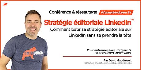 #ConnectAndLearn #4 - Stratégie éditoriale billets
