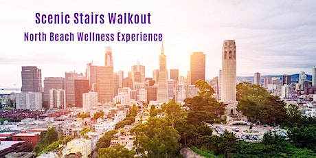 Scenic Stairs Cardio Hike in North Beach tickets