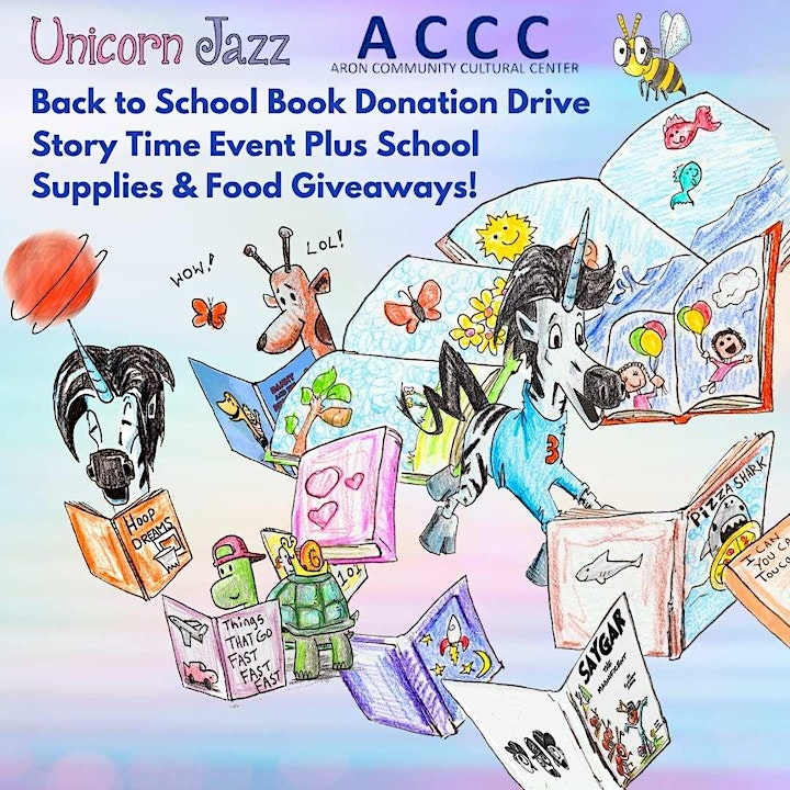 Back to School Storytime, Song Event Plus Donation Drive and Giveaways image