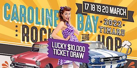 Caroline Bay Rock and Hop 2022 tickets