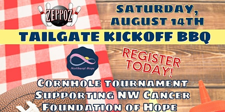 Zeppoz Cornhole Tournament supporting NW Cancer Foundation of Hope tickets