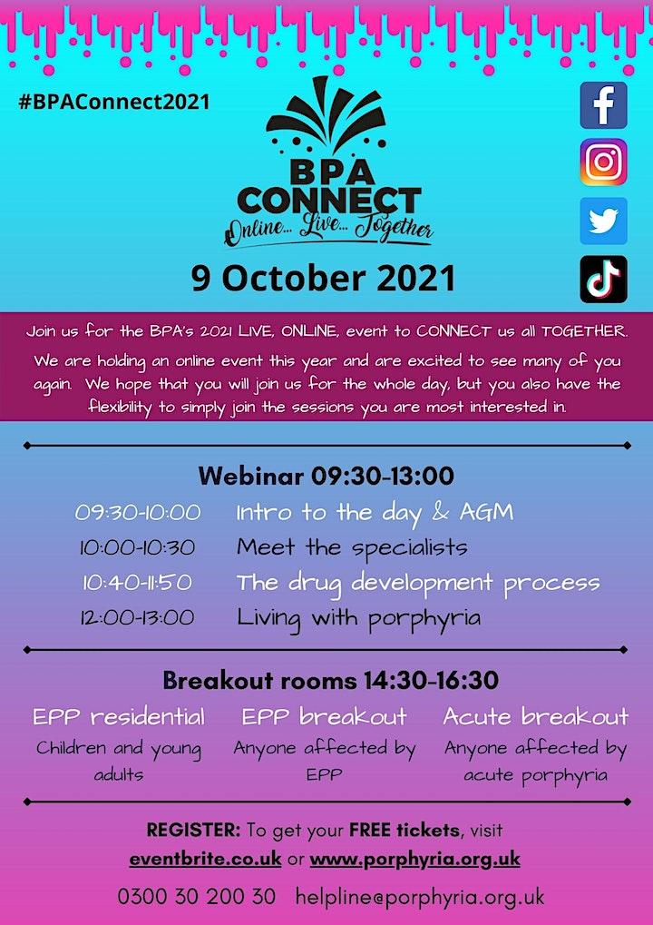 BPA Connect 2021: ONLINE -LIVE-TOGETHER image