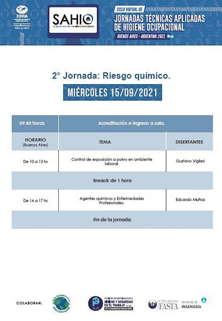 Imagen de JORNADAS TECNICAS APLICADAS DE HIGIENE OCUPACIONAL
