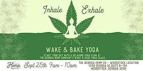 Wake & Bake Yoga with The Georgia Hemp Company tickets