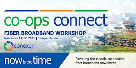 Co-ops Connect: A Conexon Fiber Broadband Workshop tickets
