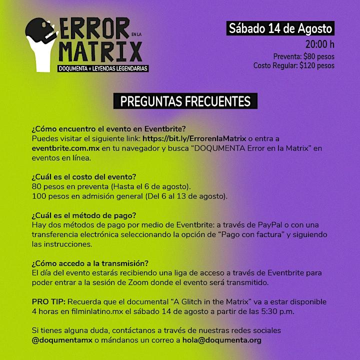 Error en la Matrix, en colaboración con Leyendas Legendarias image