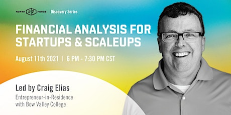 Financial Analysis for Startups & Scaleups tickets