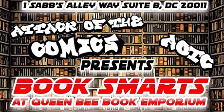 Book Smarts (Comedians Read and Riff on their favorite books) tickets