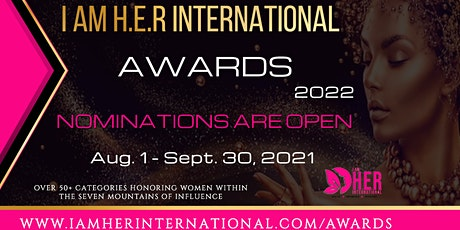 I AM H.E.R. International Awards Nominations tickets