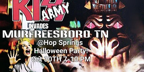 KISS ARMY Halloween Show at Hop Springs tickets