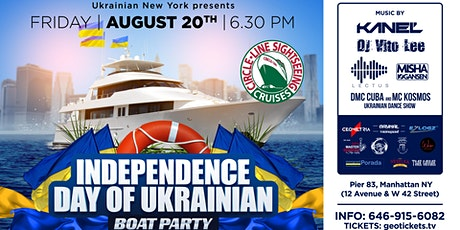 Ukrainian Boat Party Independence Day of Ukraine tickets